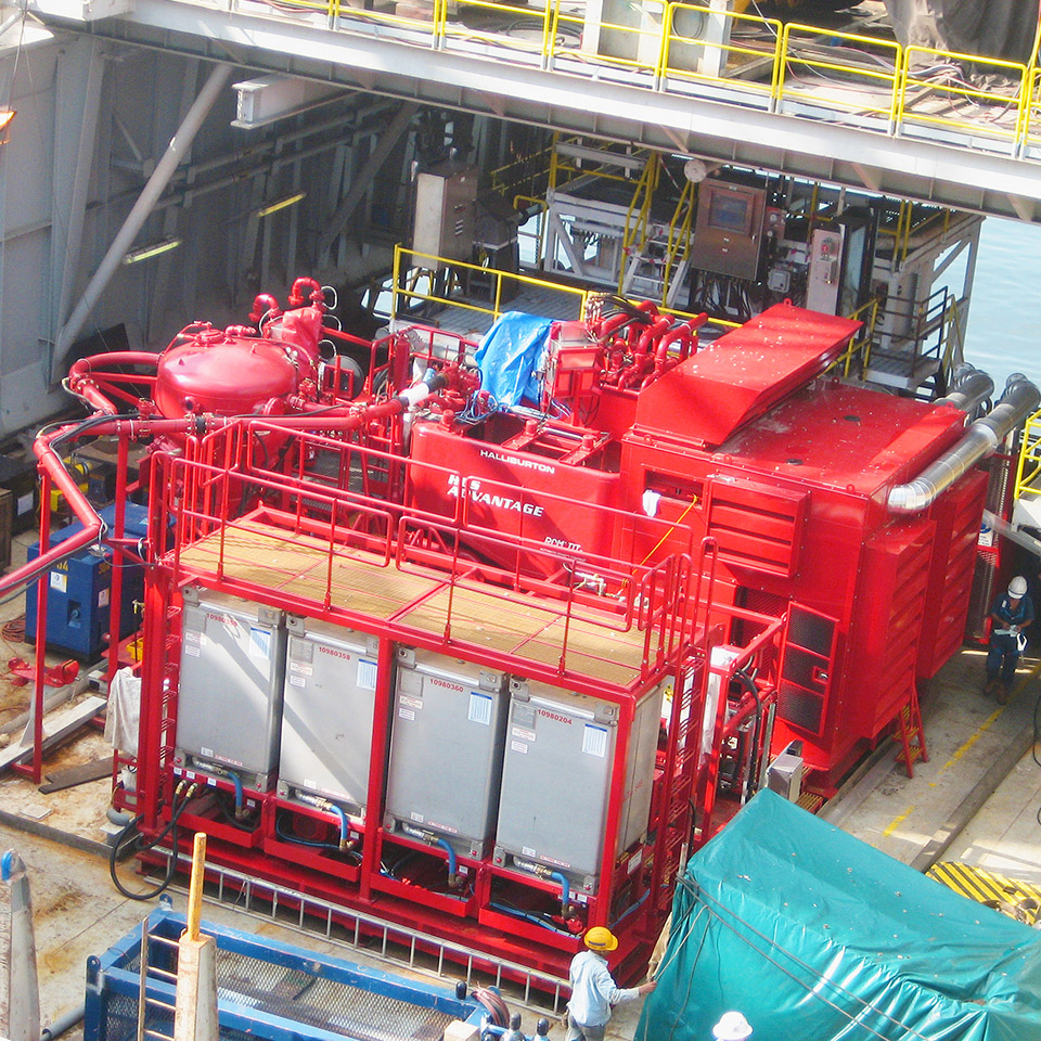 Well service equipment featuring diesel engine explosion protection kit from Pyroban