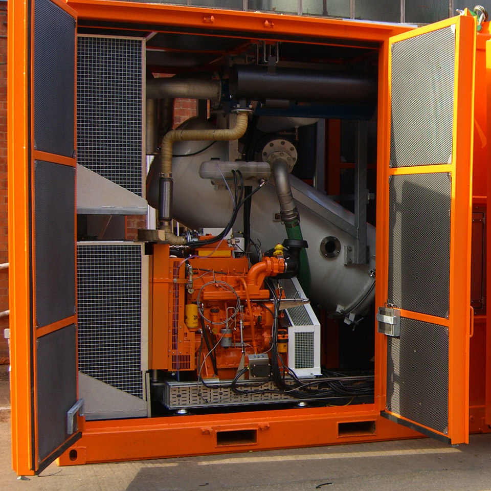 Pyroban kit as seen in this JCB 444 explosion protection package