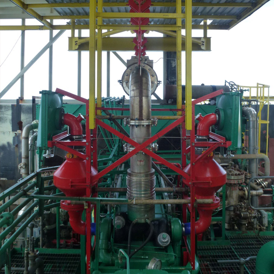 Pyroban equipment as seen in this offshore application