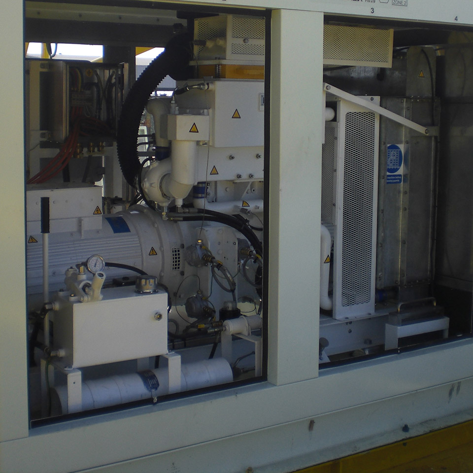 Pyroban kit providing ATEX compliant explosion protection in offshore hazardous areas