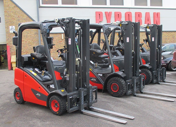 PYROBAN DELIVERS FIRST LIFT TRUCKS TO EN1755:2015 STANDARD