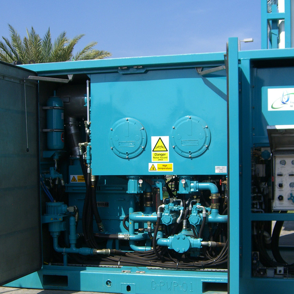 DDC diesel engine with Explosion protection Pyroban kit in Zone 2