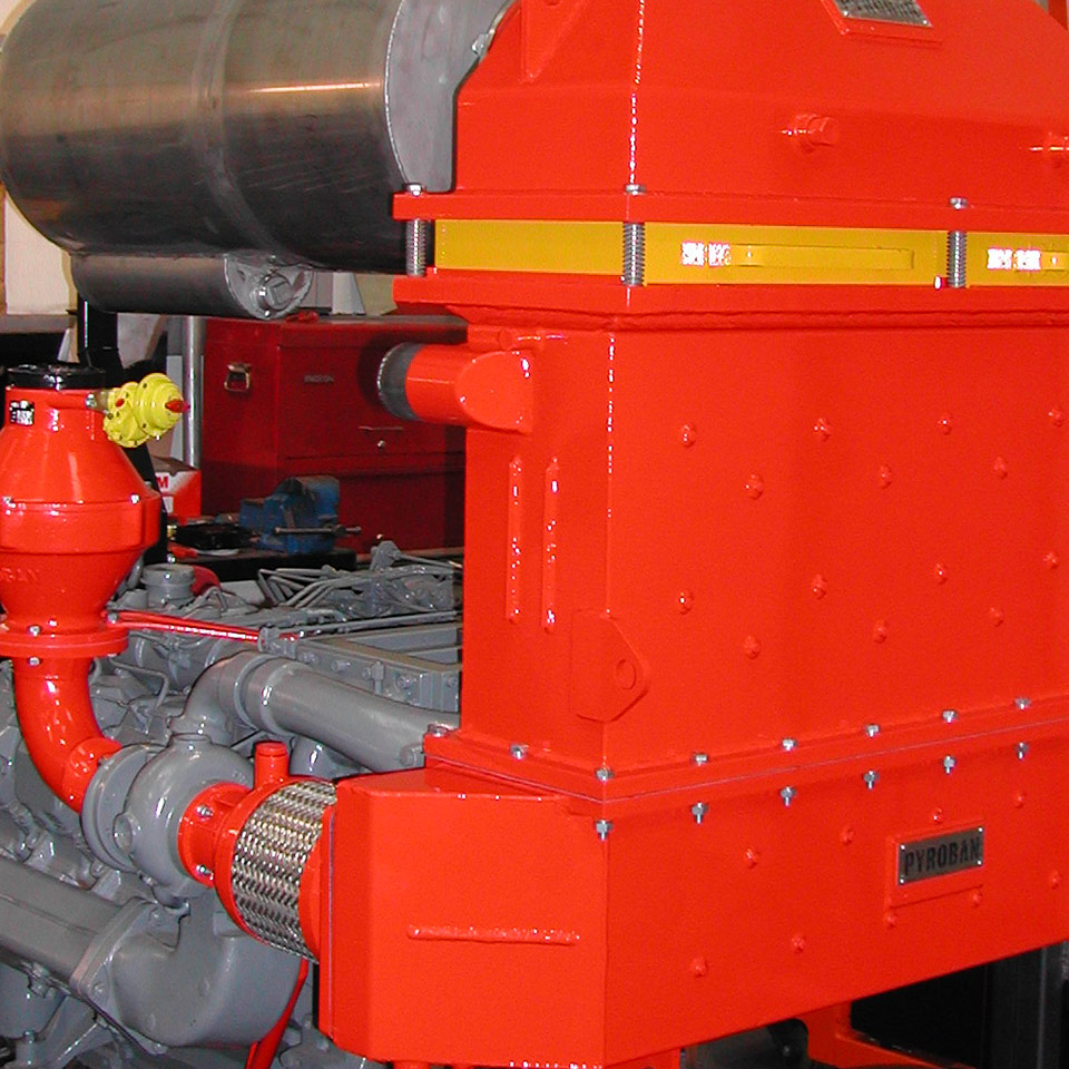 Explosion protection Pyroban kits for Deutz diesel engines in Zone 2