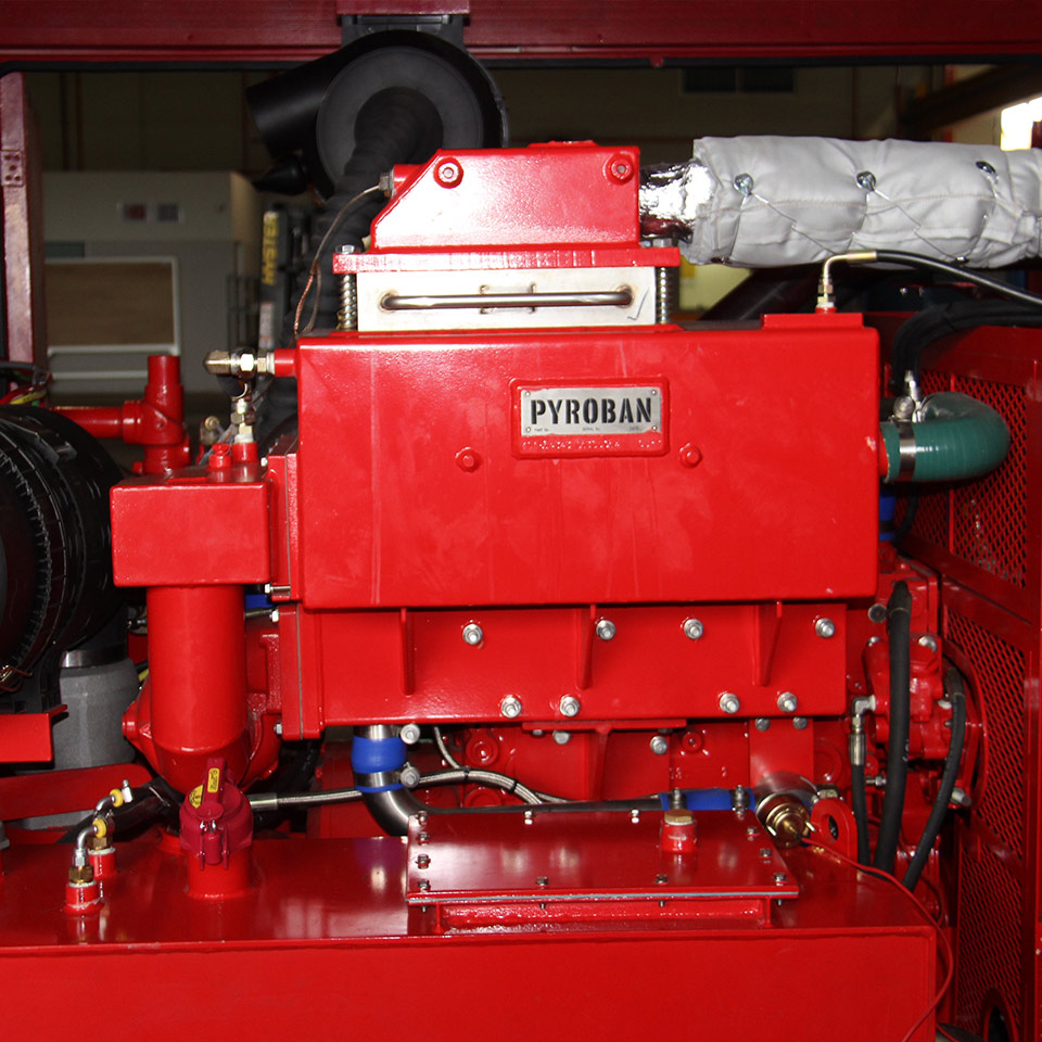Explosion protection Pyroban kits for Perkins diesel engines in Zone 2