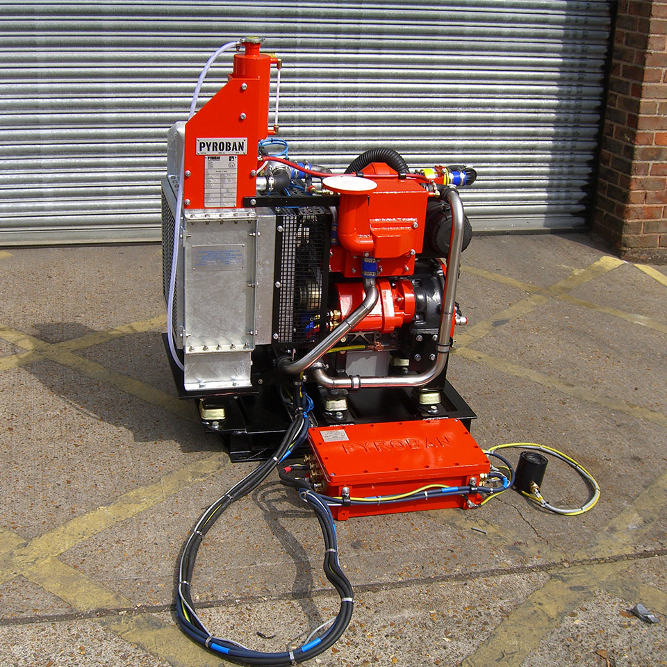 ATEX Explosion protection Pyroban kits for Perkins diesel engines in Zone 2