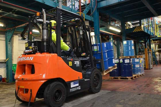When was your ATEX lift truck last checked properly?