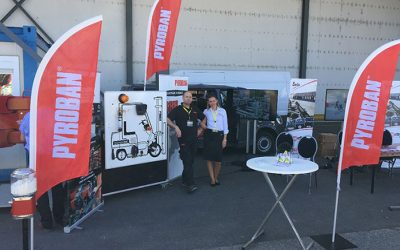Pyroban Explosion Protection on show at the Hyster® Rhine Tour