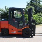 Pyroban explosion protected Toyota lift truck for Zone 1 classified hazardous areas