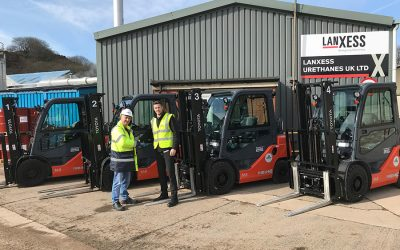 ATEX safety for LANXESS Urethanes' lift truck fleet