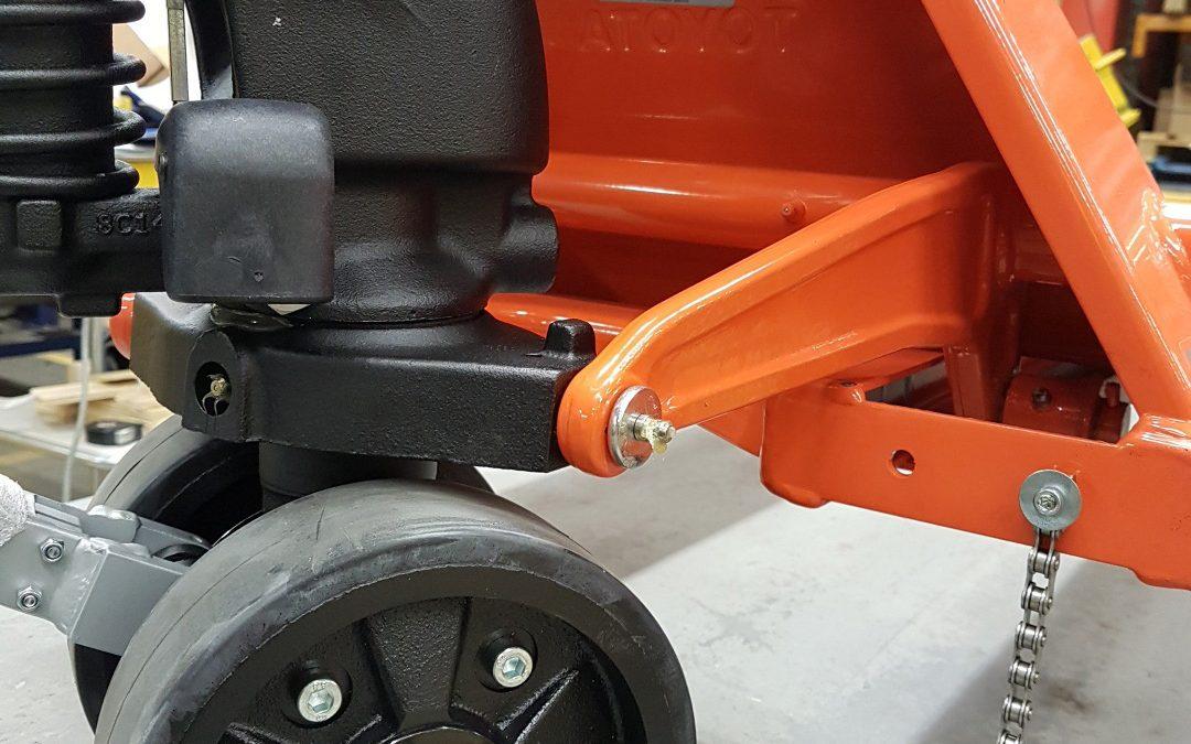Explosion Risk from Hand Pallet Trucks