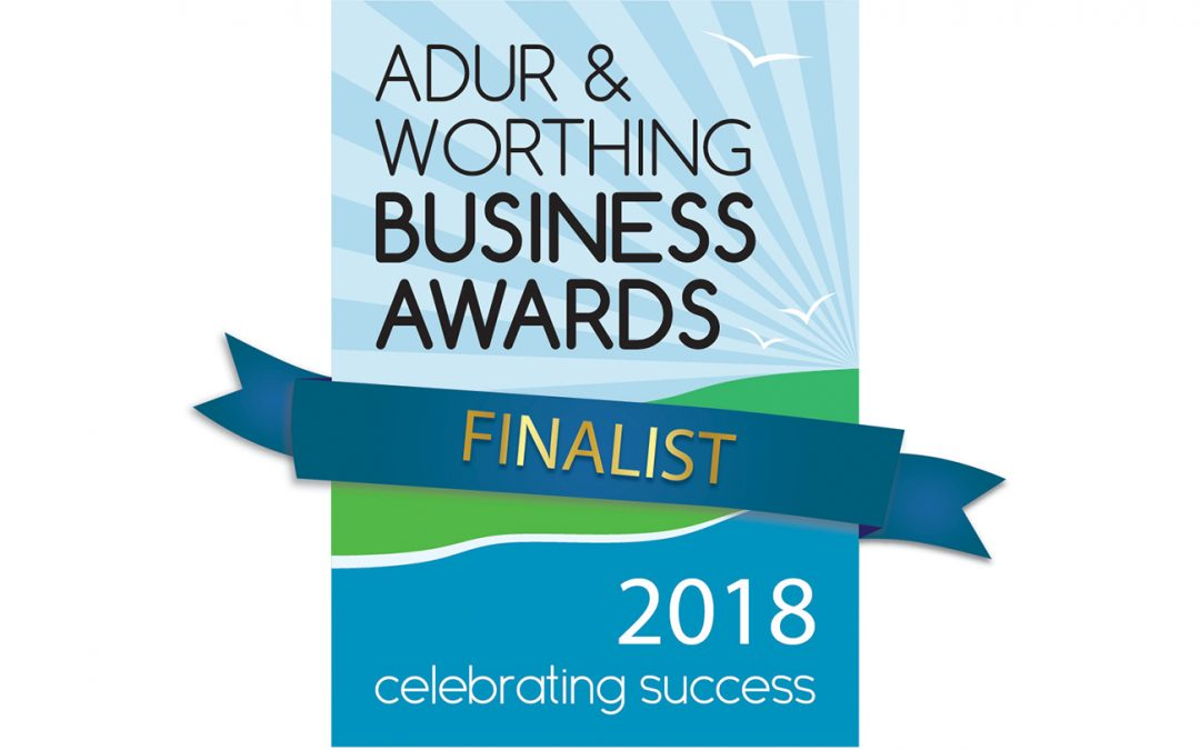 Shortlisted for Adur & Worthing Business Awards 2018
