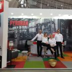 """LogiMAT 2019, held in Stuttgart, Germany, was a success for the Pyroban team who began celebrations for 50 years since the beginning of """"Project Pyroban""""."""