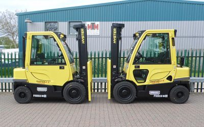 Pyroban provides explosion protection for Hyster® trucks throughout EMEA