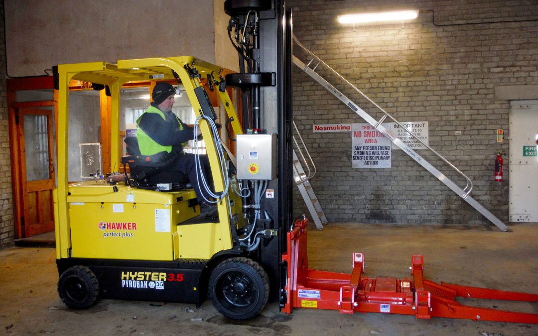 "Distillery lift trucks get ""vapour aware"" with Pyroban"