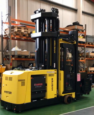 Hyster® VNA truck for a Zone 2 distillery application