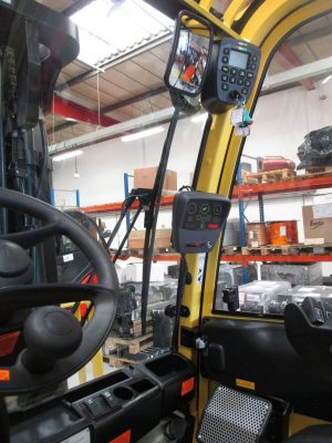 Hyster® J4.0XN electric forklift with system6000E conversion for a Scottish distillery