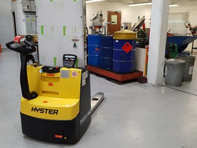 Hyster® S1.2 stacker with system6000E for customer in France