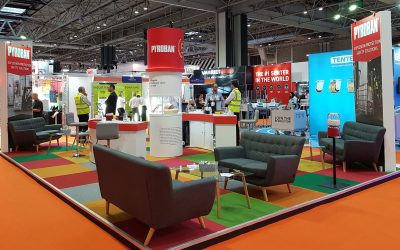 Pyroban active gas detection demo at IMHX 2019 shows how to reduce explosion risk