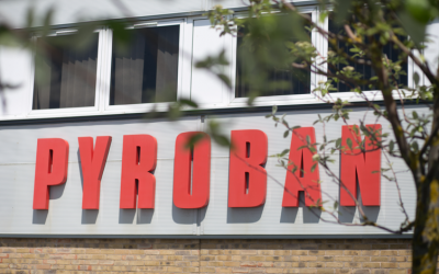 Pyroban certified to ISO 14001:2015 standards