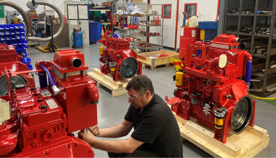Pyroban ships first batch of 26 ATEX HazPak engines for Zone 2 offshore application