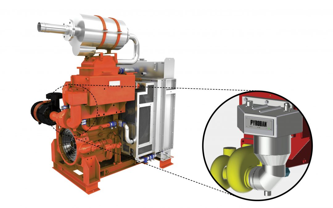 Pyroban stops 8-hour maintenance regimes on explosion proof engines