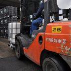 Restarting forklift operations