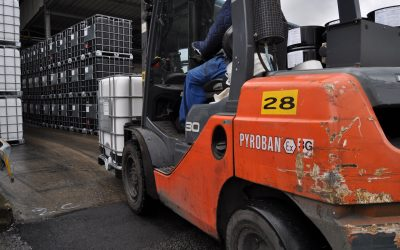 Checklist for restarting operations with explosion proof lift trucks