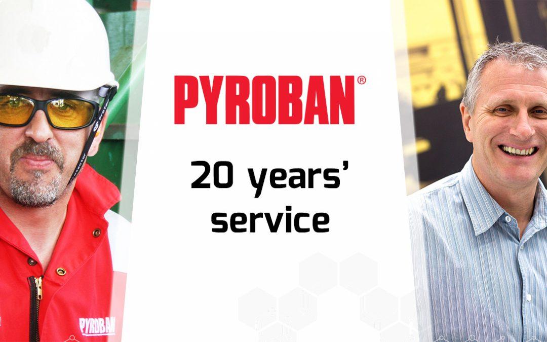Celebrating 20 Years at Pyroban