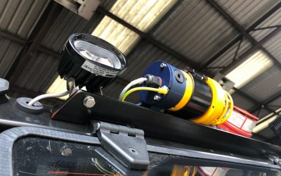 Six reasons to choose Pyroban's Blue EX Spot for ATEX forklifts