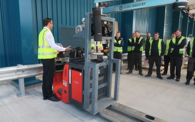 H.W. Coates gets active with ATEX forklifts in solvent-based paint store