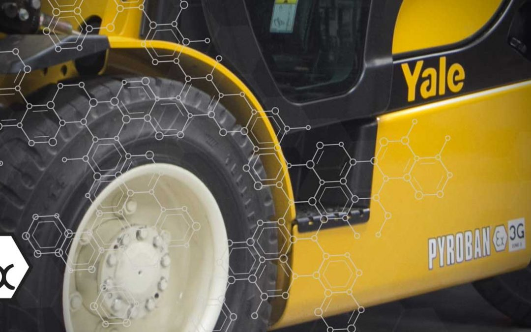 Yale Lift Trucks with Pyroban ATEX Explosion Protection for Silbitz Group