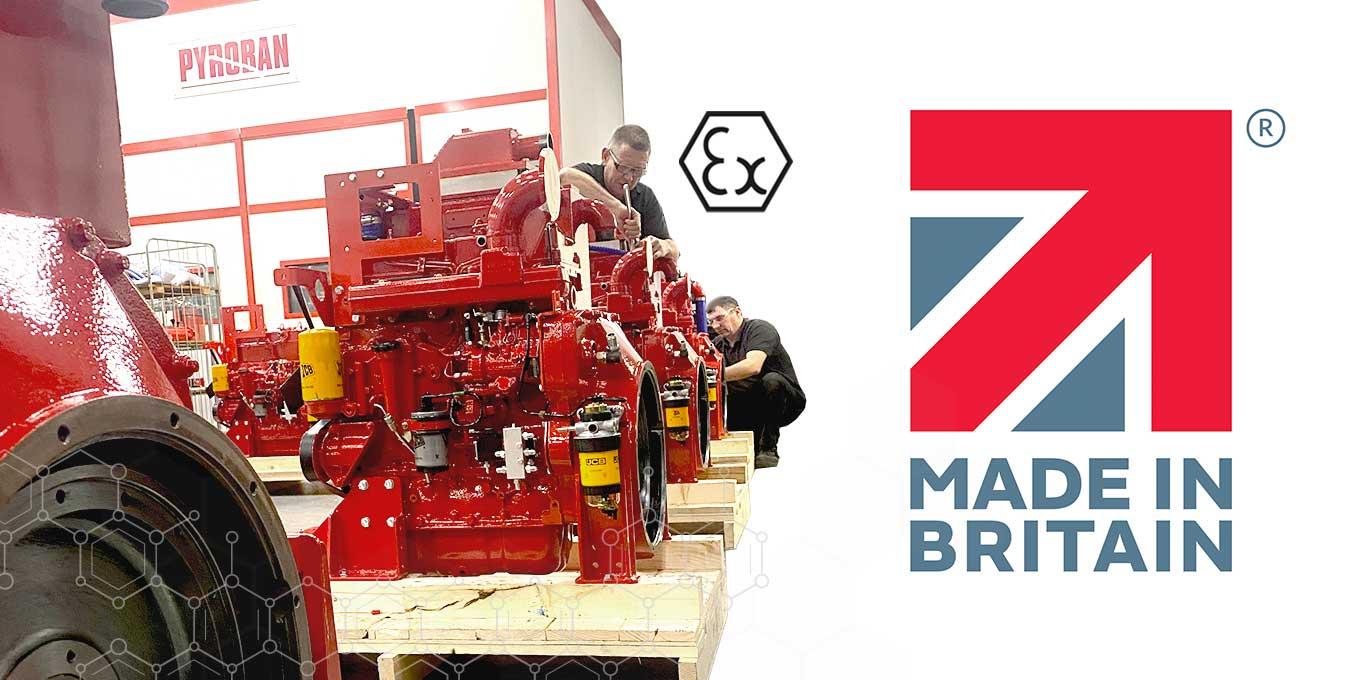 Made in Britain - Pyroban