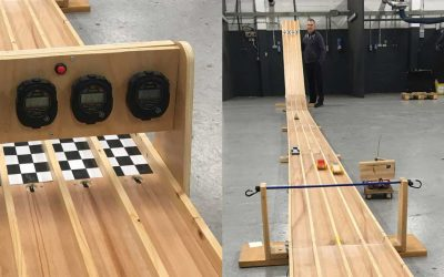 Stiff competition at Pyroban's Pinewood Derby
