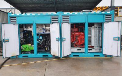 Four Pyroban HazPak 200 ATEX powerpacks for Brimmond Group