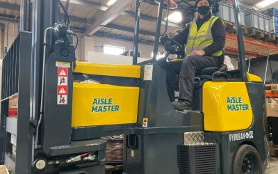 Converting articulated forklift trucks correctly for Zone 2 (ATEX) hazardous areas