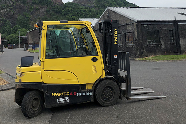 Audits follow retrofit of speed limiting systems to explosion proof forklifts