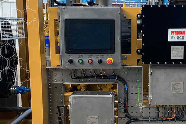 """New 15"""" display for Ex-SCS control system for ATEX engines"""