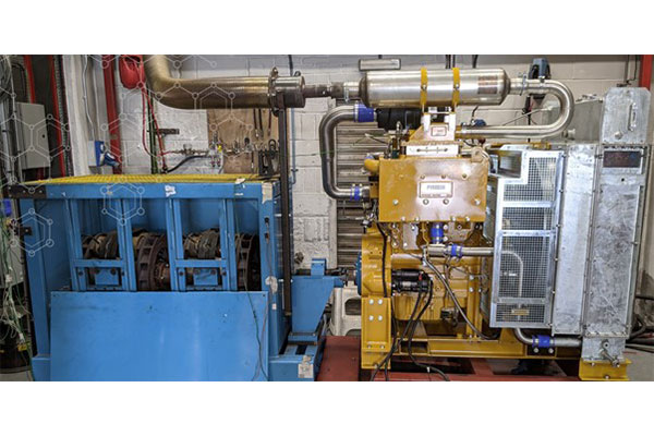 Rare opportunity: Cat C4.4NA ATEX engine in stock